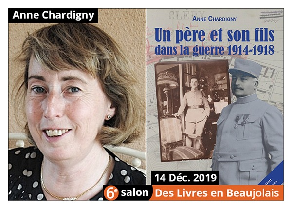 Anne Chardigny - 6e Salon des Livres en Beaujolais 2019