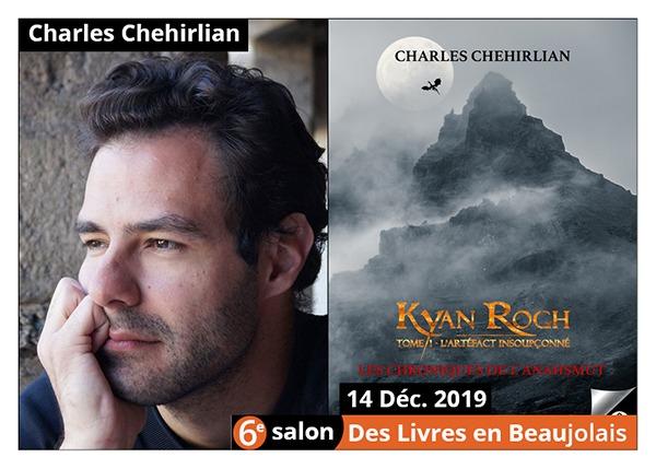 Charles Chehirlian - 6e Salon des Livres en Beaujolais 2019