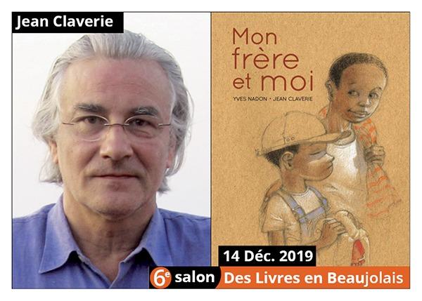 Jean Claverie - 6e Salon des Livres en Beaujolais 2019