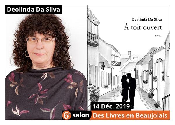 Deolinda Da silva - 6e Salon des Livres en Beaujolais 2019