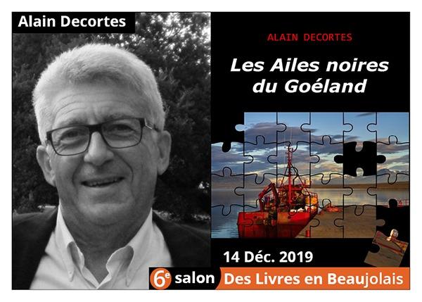 Alain Descortes - 6e Salon des Livres en Beaujolais 2019
