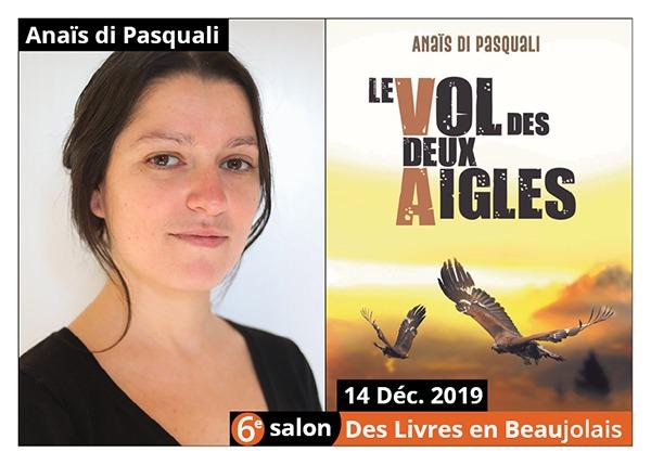 Anaïs di Pasquali - 6e Salon des Livres en Beaujolais 2019
