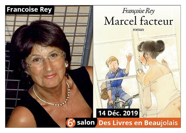 Francoise Rey - 6e Salon des Livres en Beaujolais 2019