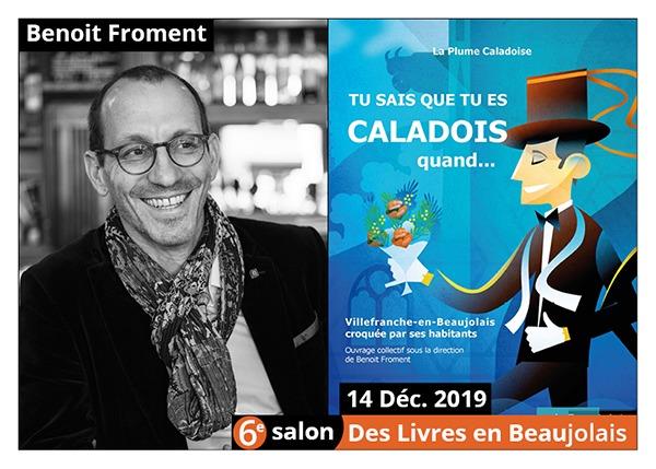 Benoit Froment - 6e Salon des Livres en Beaujolais 2019