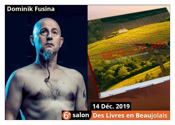 Dominik Fusina - 6e Salon des Livres en Beaujolais 2019