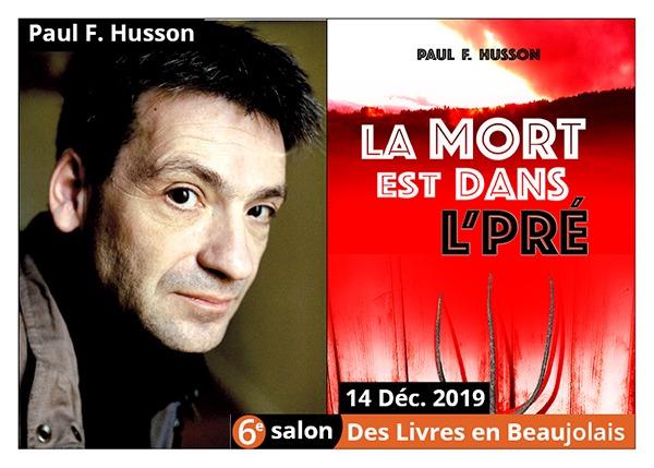 Paul-Francois Husson - 6e Salon des Livres en Beaujolais 2019