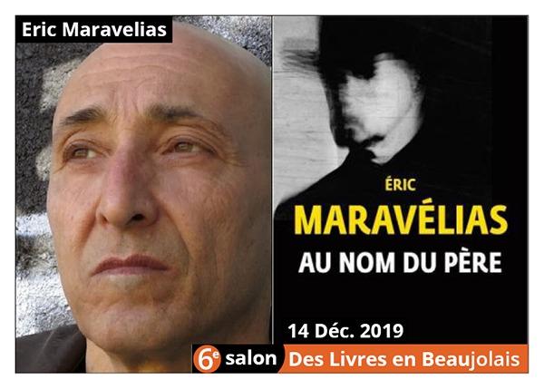 Éric Maravelias parrain du 6e Salon des Livres en Beaujolais