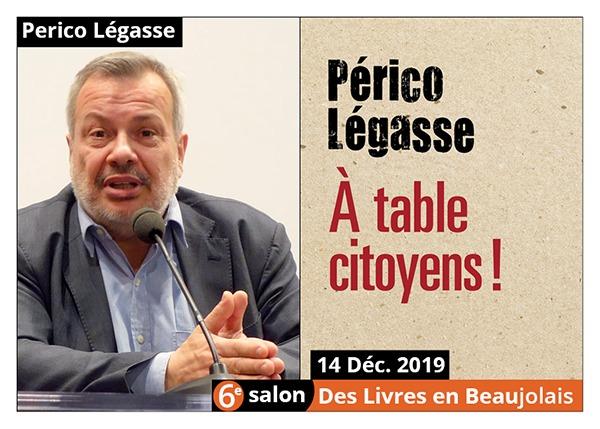 Perico Légasse - 6e Salon des Livres en Beaujolais 2019
