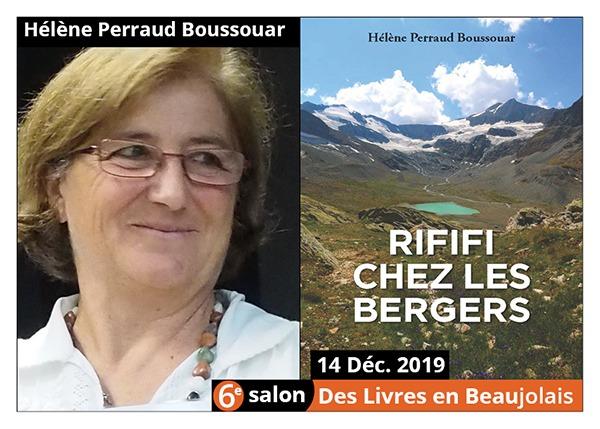 Hélène Perraud Boussouar  - 6e Salon des Livres en Beaujolais 2019