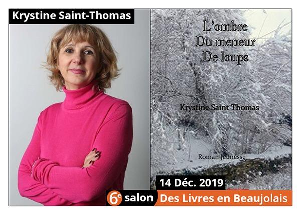 Krystine Saint Thomas - 6e Salon des Livres en Beaujolais 2019