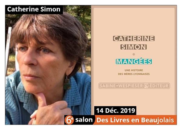 Catherine Simon - 6e Salon des Livres en Beaujolais 2019