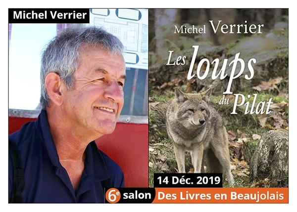 Michel Verrier - 6e Salon des Livres en Beaujolais 2019