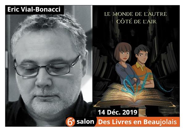 Éric Vial-Bonacci  - 6e Salon des Livres en Beaujolais 2019