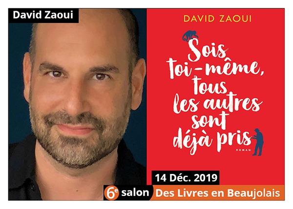 David Zaoui - 6e Salon des Livres en Beaujolais 2019