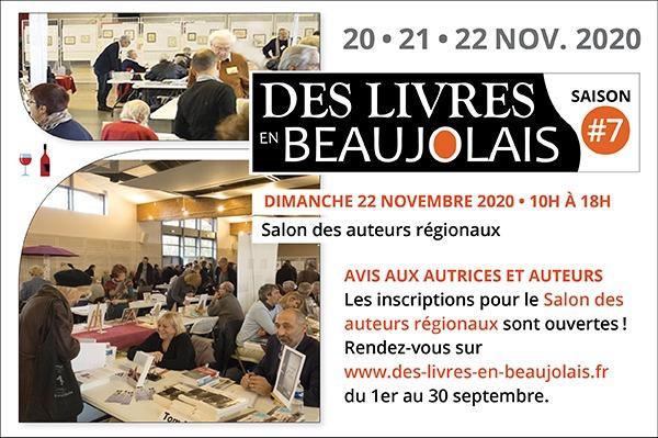7e salon des livres en beaujolais