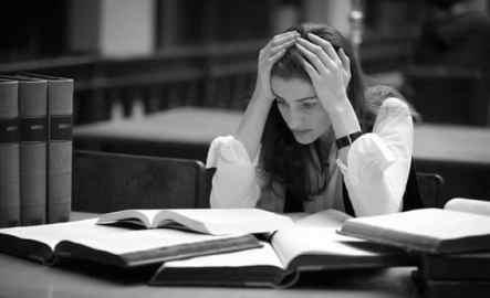 soutien scolaire stress trou noir