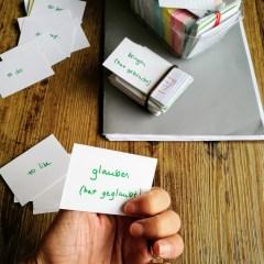 Flashcards matériel scolaire apprendre école