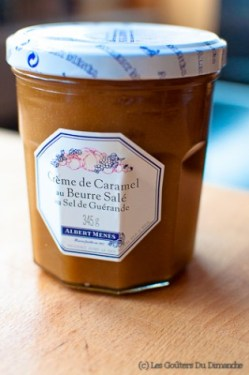 Roulé au caramel au beurre salé