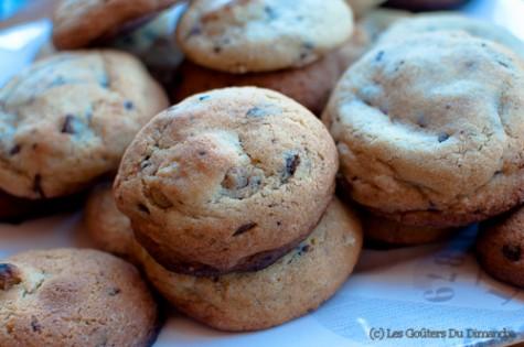 Cookies au chocolat et noix