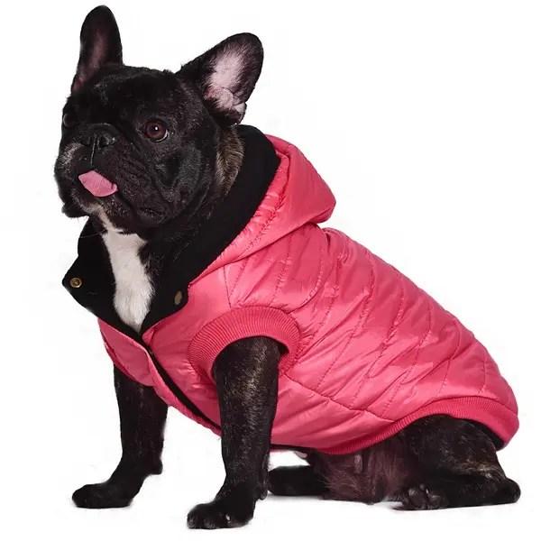 Hooded Down Jacket Parka Waterproof Pet Dog Winter Warm