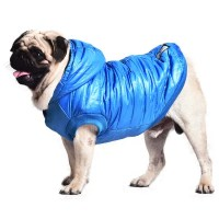 Hooded Down Jacket Parka Waterproof Pet Dog Winter Warm