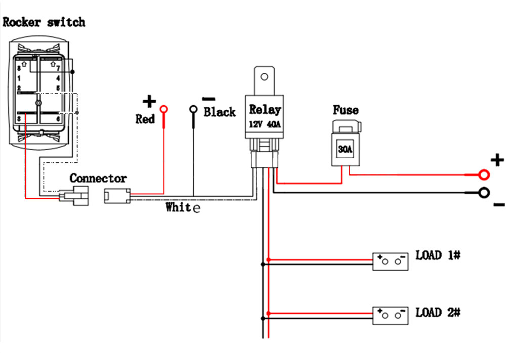 Wire Diagram For A Light Bar With Switch : 40 Wiring
