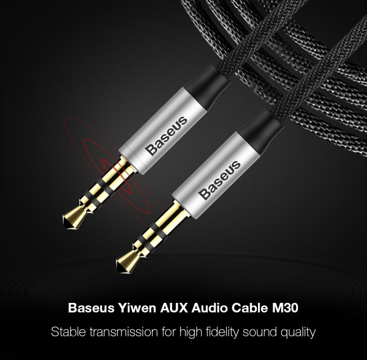 Baseus Yiven M30 AUX Audio Cable 3.5mm to 3.5mm Jack