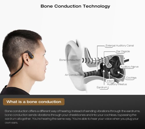 small resolution of signet bt bk bluetooth 4 1 open ear bone conduction headphones noise canceling headband with