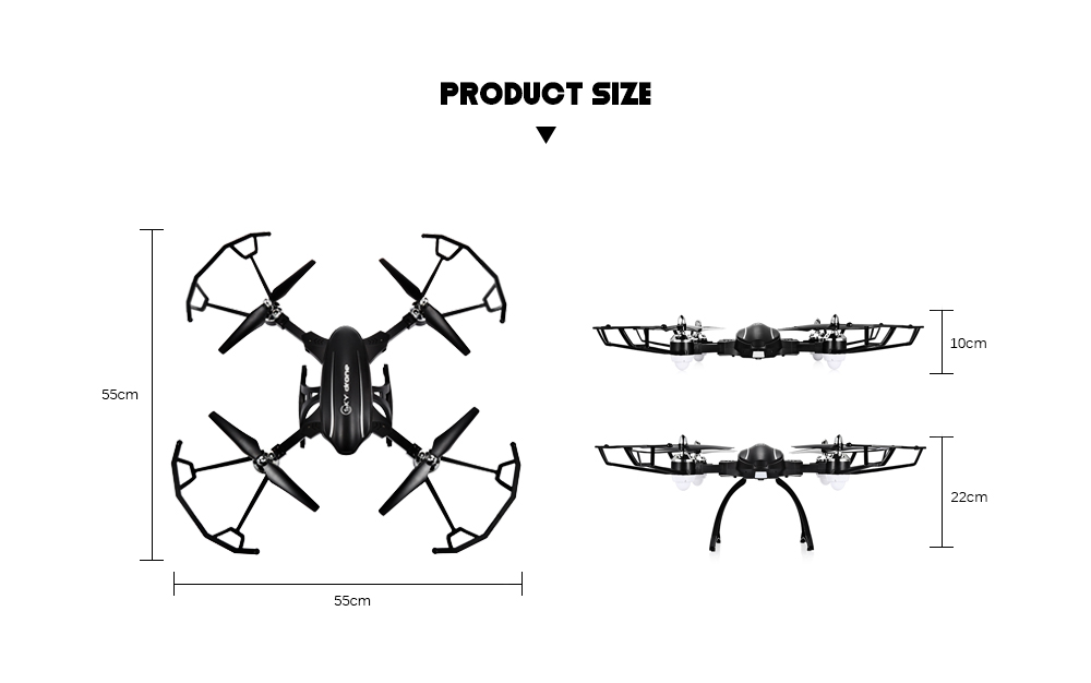Flytec T22 RC Quadcopter 2.4G 4CH 6-axis Gyro Altitude