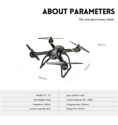 flytec ty t1 720p wifi camera rc quadcopter 2 4ghz 4ch 6 axis gyro [ 1000 x 1000 Pixel ]