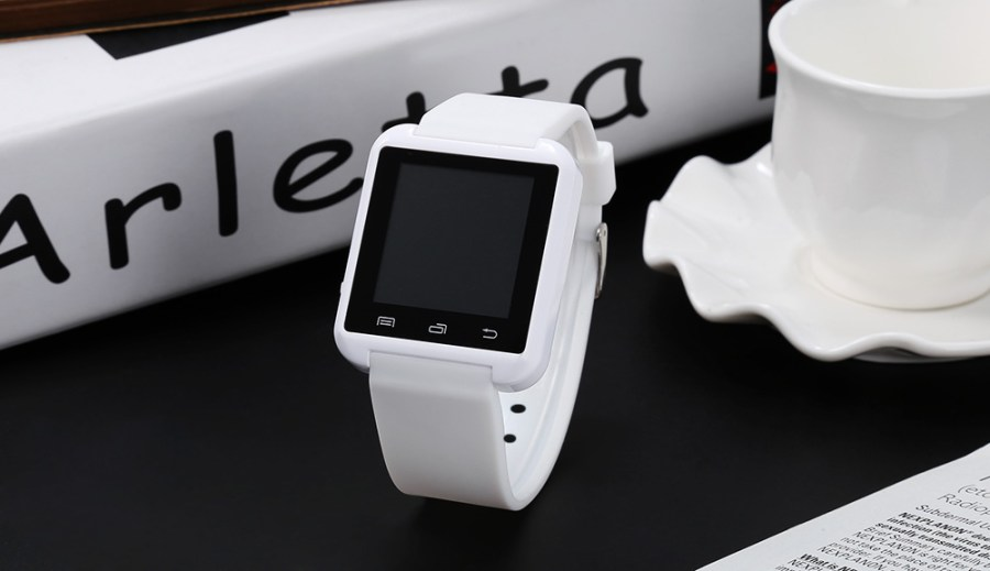 U8 Smartwatch Bluetooth Watch Passometer Touch Screen Answer and Dial the Phone