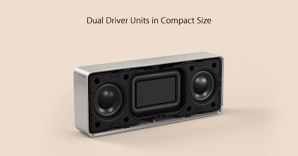 Original Xiaomi XMYX03YM Bluetooth 4.2 Speaker Hands-free- Silver