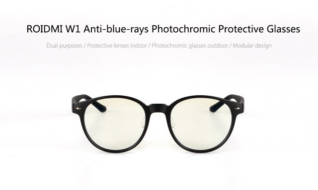 ROIDMI W1 Anti-blue-rays Photochromic Protective Glasses with Resin Lens