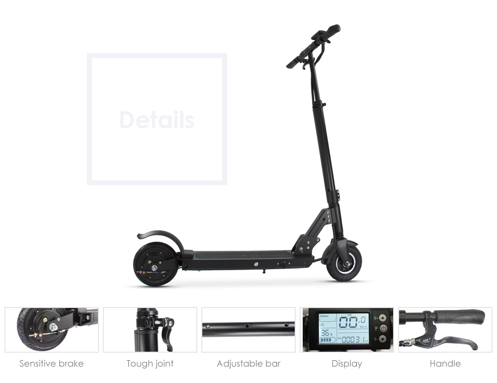PomeIo JL801E 8.8Ah 8 inch Folding Electric Scooter ( EU