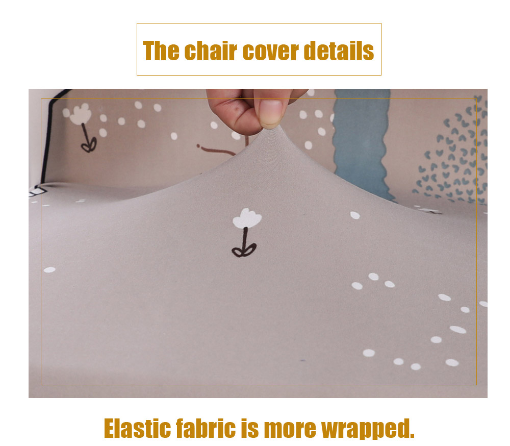 Chair Cover Patterns Multi Seasonal Chair Cover Of Cartoon Patterns For Common Use