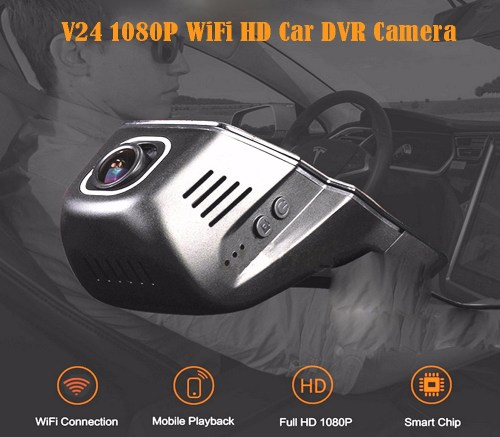 small resolution of v24 1080p wifi hd car dvr camera with 170 degrees wide angle black