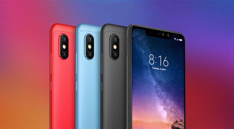 Xiaomi Redmi Note 6 Pro 4G Phablet 6.26 inch Qualcomm Snapdragon 636 Octa Core 1.8GHz 4GB RAM 64GB ROM 12.0MP + 5.0MP Rear Camera Fingerprint Sensor - Black