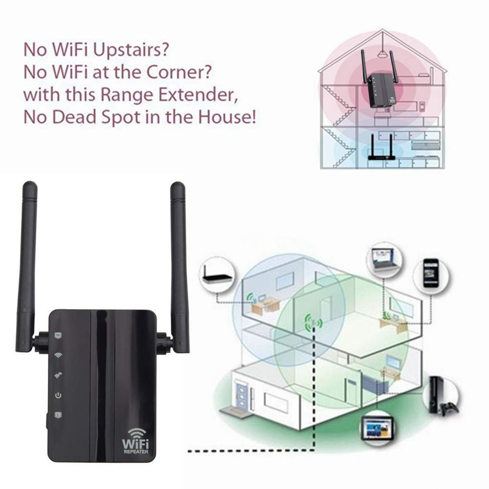 hight resolution of dual lan wifi range extender wireless repeater access point router mode black eu