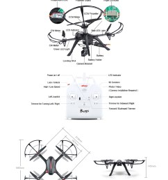 mjx b3 bugs 3 rc quadcopter rtf two way 2 4ghz 4ch with action camera [ 1000 x 1376 Pixel ]