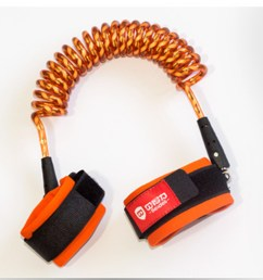 child safety equipment anti lost rope baby anti lost rope lock tangerine 1 5 [ 1000 x 1000 Pixel ]