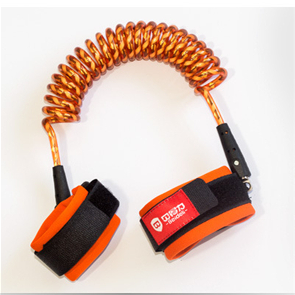 hight resolution of child safety equipment anti lost rope baby anti lost rope lock tangerine 1 5