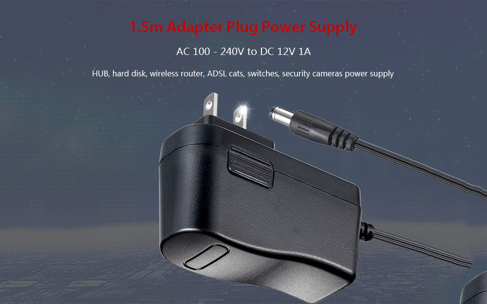 plug power q2 jayco tent trailer wiring diagram 1 5m adapter supply for camera and monitor 4 88 free ac 100 240v to dc 12v 1a