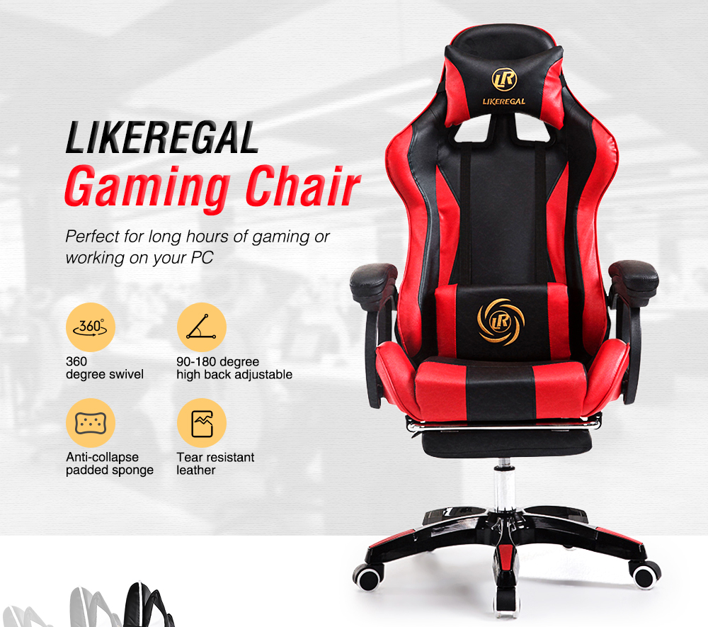 Gamers Chairs Likeregal Gaming Chair For Pc Home Office Use