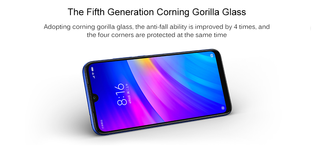Xiaomi Redmi 7 4G Phablet 6.26 inch Android 9.0 Qualcomm 632 Octa Core 1.8GHz 3GB RAM 32GB ROM 12.0MP + 2.0MP Rear Camera Fingerprint Sensor 3900mAh Built-in- Blue