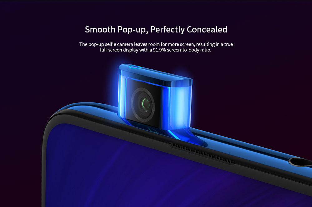 Xiaomi Mi 9T Pro 4G Phablet 6.39 inch MIUI 10 Snapdragon 855 Octa Core 2.84GHz + 2.42GHz + 1.80GHz 6GB RAM 128GB ROM 48.0MP + 13.0MP + 8.0MP Rear Camera 4000mAh Battery- Blue