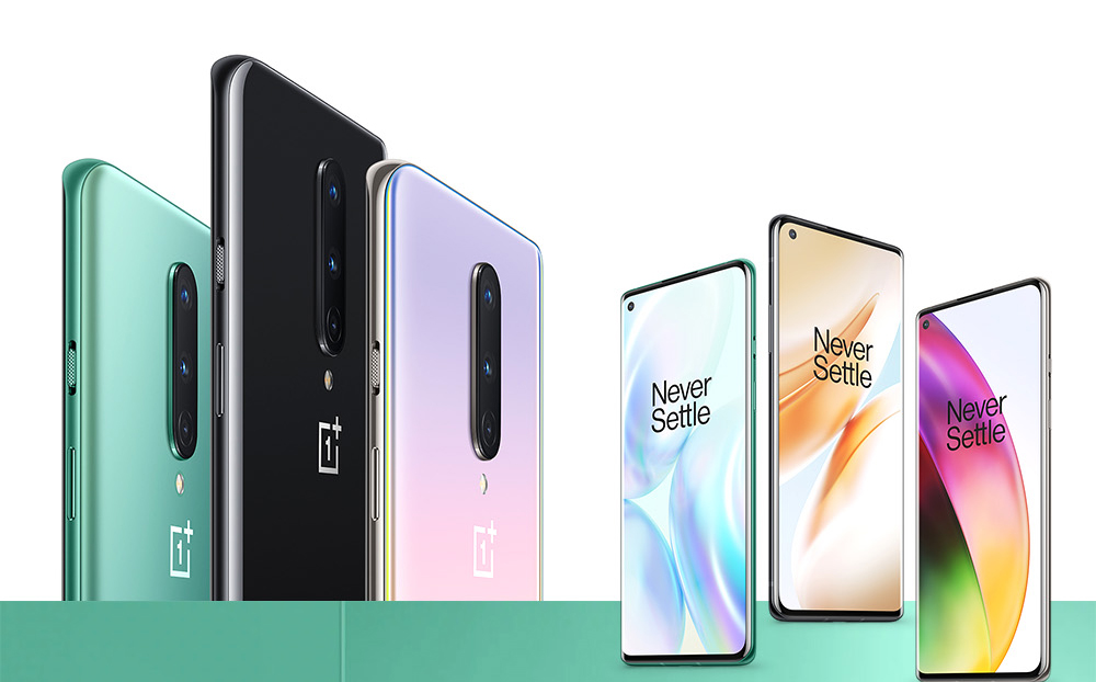 Oneplus 8 5G Smartphone 6 .55 inch Snapdragon 865 International Version - Twilight 12GB+256GB
