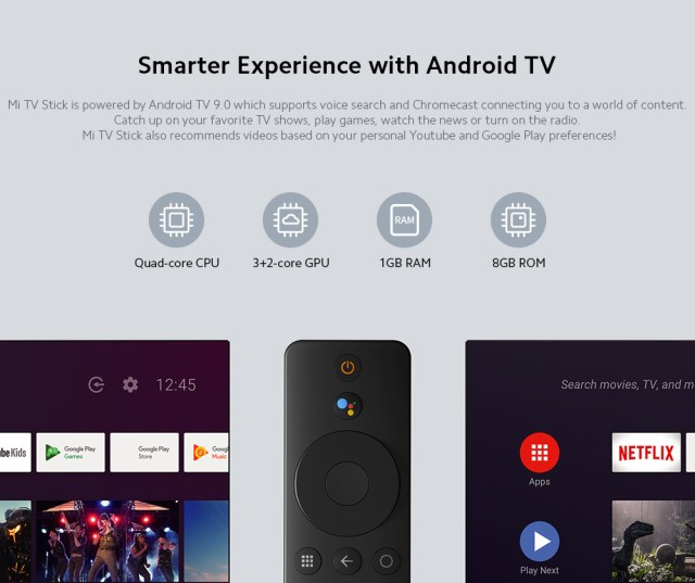 Xiaomi Mi TV Stick Smarter Experience with Android TV