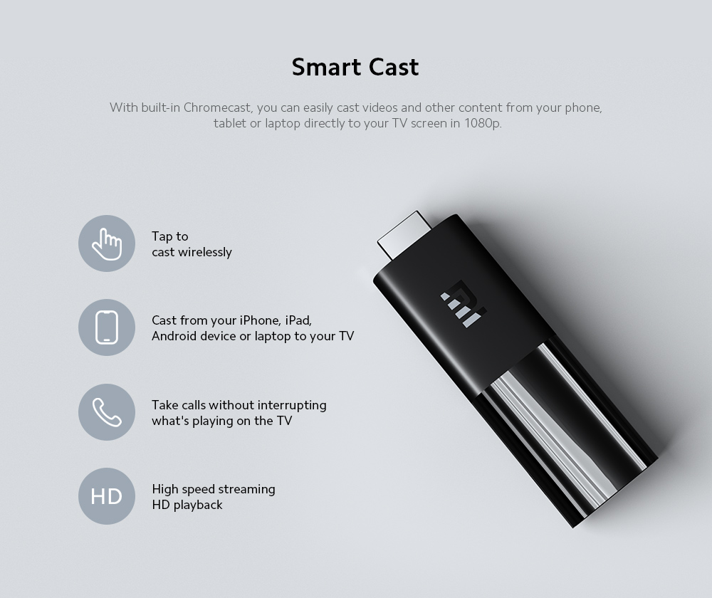 Xiaomi Mi TV Stick Smart Cast