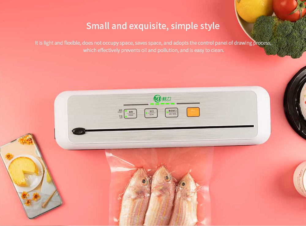 XL-G/SMODE-02 Food Vacuum Preservation Sealing Machine Small and exquisite, simple style