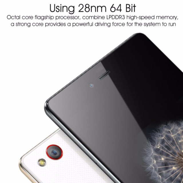 Nubia Z9 Mini Android 5.0 4G LTE Smartphone 5.0 inch IPS OGS Gorilla Glass Screen Snapdragon 615 Octa Core 1.5GHz 2GB RAM 16GB ROM 16.0MP Camera